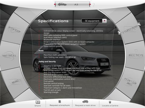 New Audi A3 screenshot three