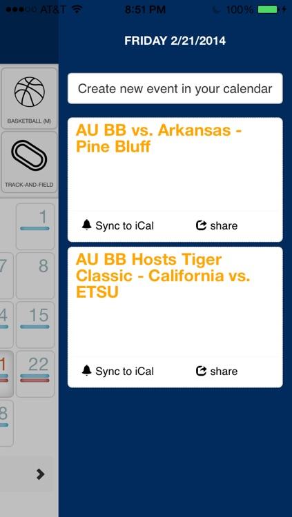 Auburn Calendar screenshot-3