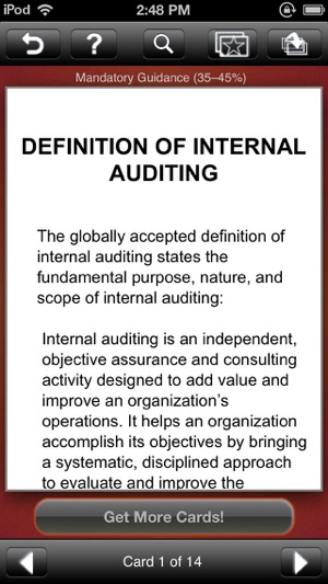 CIA Exam Notes - Wiley Certified Internal Auditor Exam
