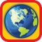 World Capitals Geography Quiz is a trivia game that will help you learn countries and capitals of the world in an easy and enjoyable way