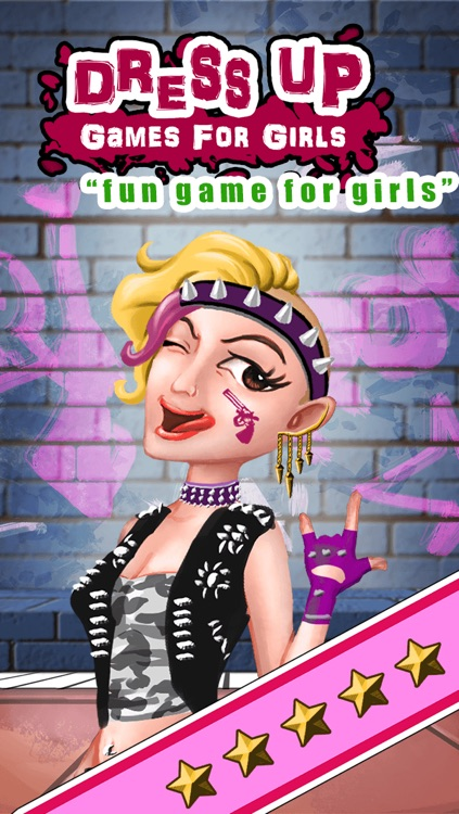 Emo Punk Gothic Fashion Dress Up - Fun Makeover and Makeup Beauty Game For Girls PRO