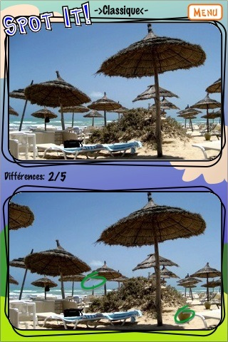SpotIt! MANIA find the differences- free lite edition