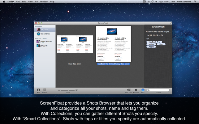 ‎ScreenFloat-Better Screenshots Screenshot