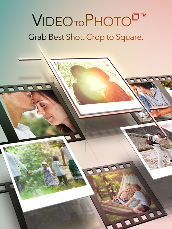 Video to Photo Square Free - Photos from Videos iPad Edition for Instagram