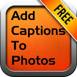how to add captions to my photos