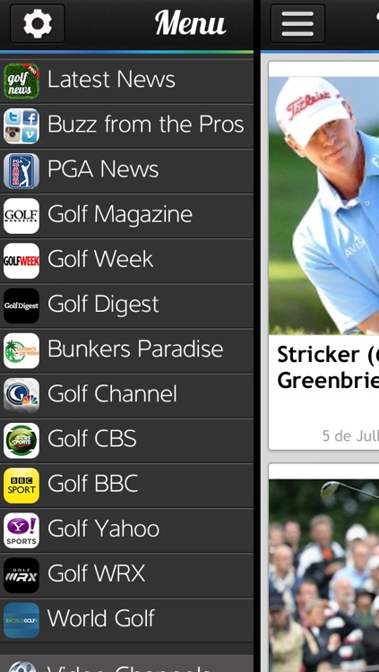 Golf News Pro screenshot-0
