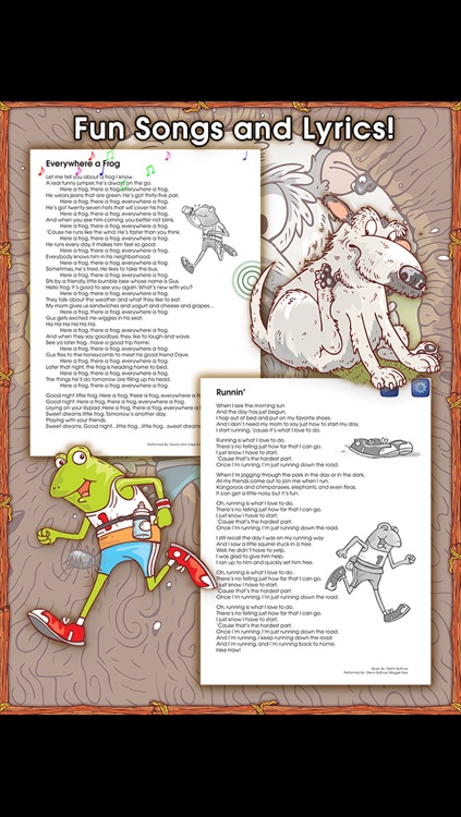 Jog, Frog, Jog - A Start to Read! UnderCover Book from School Zone screenshot-4