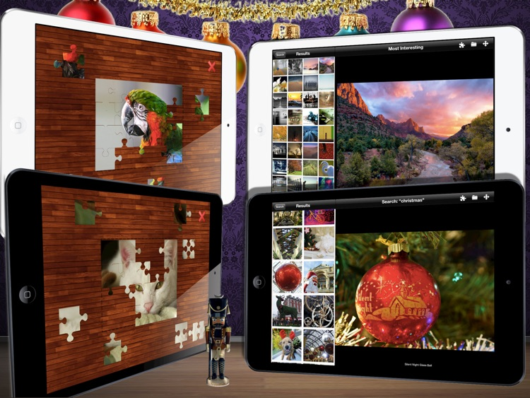 Flickr Photo Viewer And Puzzle Maker