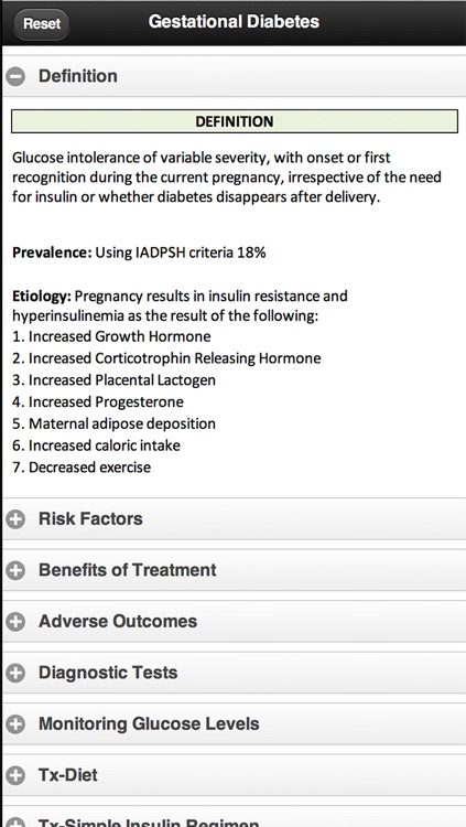 Diagnosis and Management of Gestational Diabetes