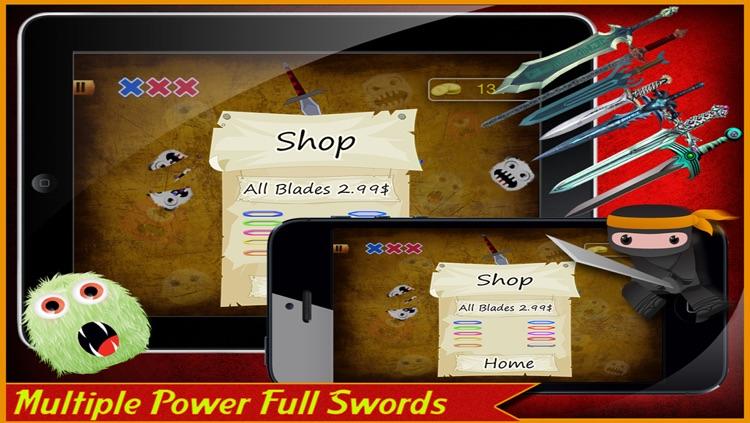 Monster Ninja Lite screenshot-3