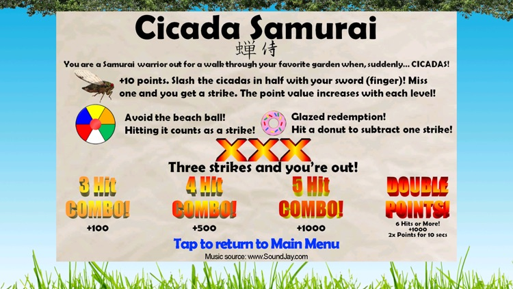 Cicada Samurai screenshot-4