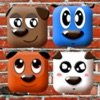 ! The Little Puppies, small casual brain trainer logical two player game for kids and girls.