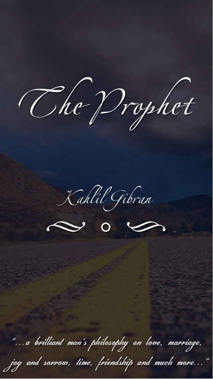 Kahlil Gibran's : The Prophet screenshot-0