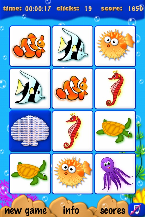 Memory Sea Life