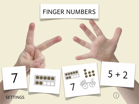 Finger Numbers - multitouch math Screenshots
