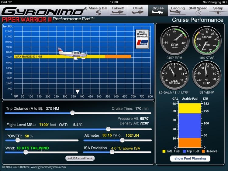 Piper Warrior III screenshot-4