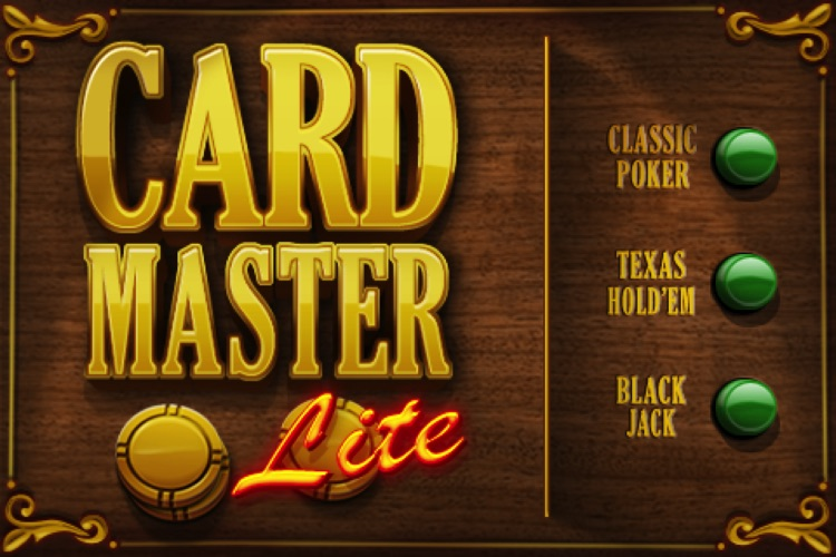 Card Master Lite - Texas Hold'em - Poker - Blackjack screenshot-4