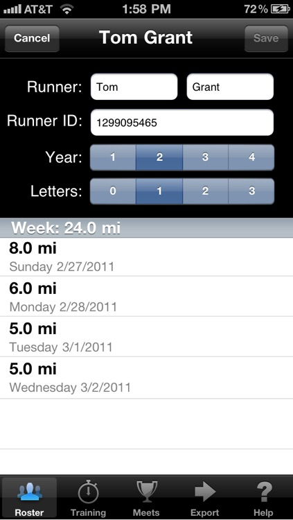 Track Coach Pro screenshot-4