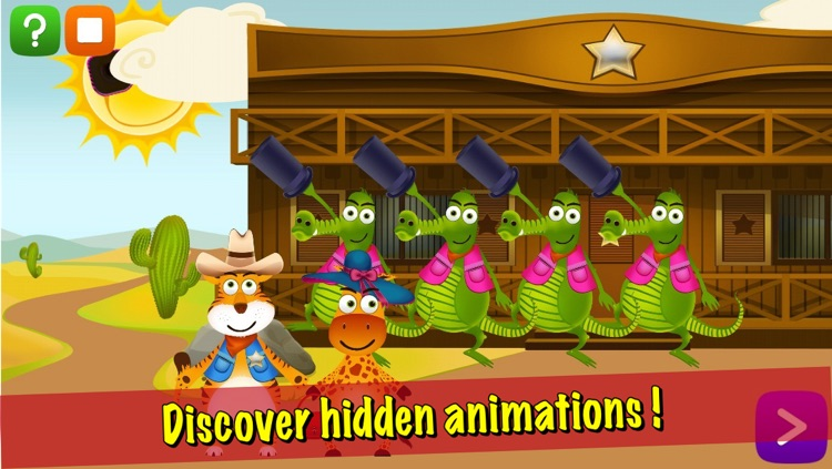 Animal Antics: Sheriff the Tiger's Adventure screenshot-3
