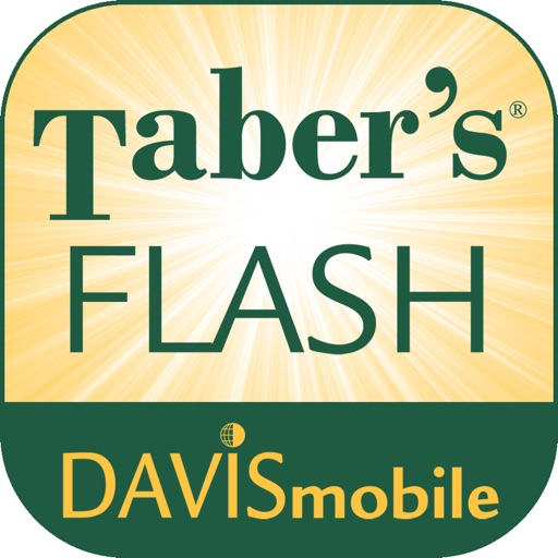 DavisMobile Taber's Flash Cards for iPad