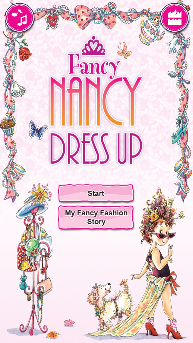 Fancy Nancy Dress Up review screenshots