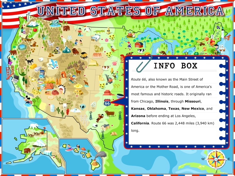 USA - Illustrated Geography Atlas screenshot-0