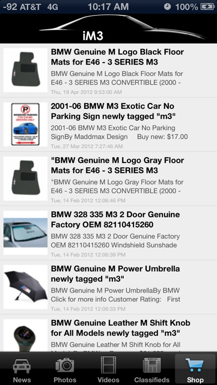 iM3 - News & Media for BMW M3 Enthusiasts! screenshot-4