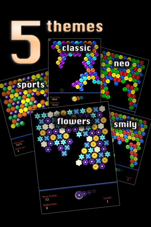Dubble Bubble Shooter HD screenshot-3