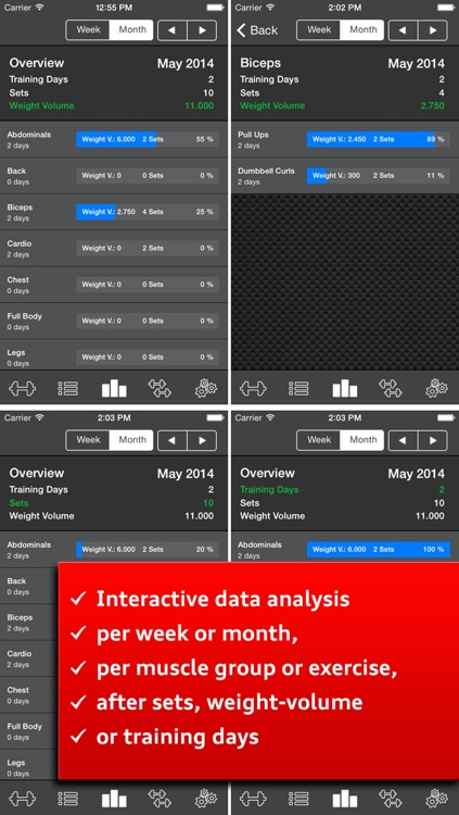 Gym Log Ultimate Pro - Plan and log workouts with the best fitness tracker screenshot-3