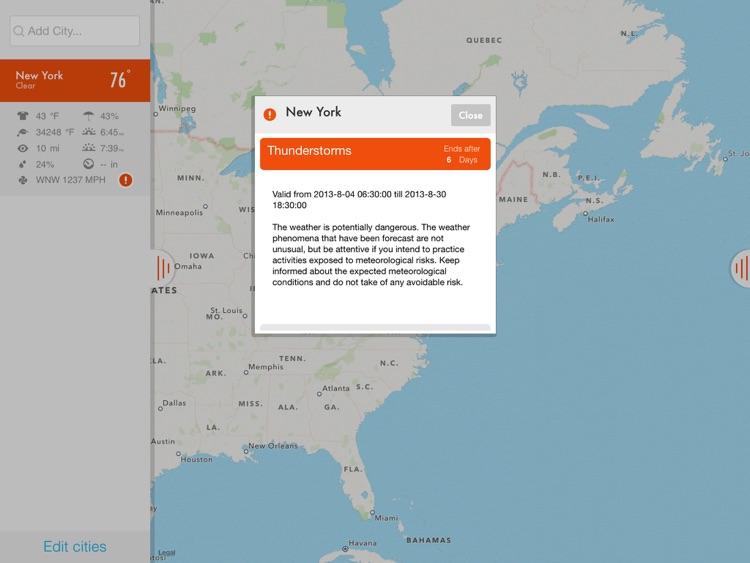 NOAA Radar & Hurricane inFocus - by Clear Day™ (Storm Alerts, Hurricane Tracker & Weather Forecast) screenshot-4