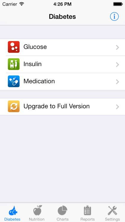 Track3 Lite - Diabetes Planner, Diabetes Glucose Logbook, Diabetes Tracker, Carb Counter (SI Version)