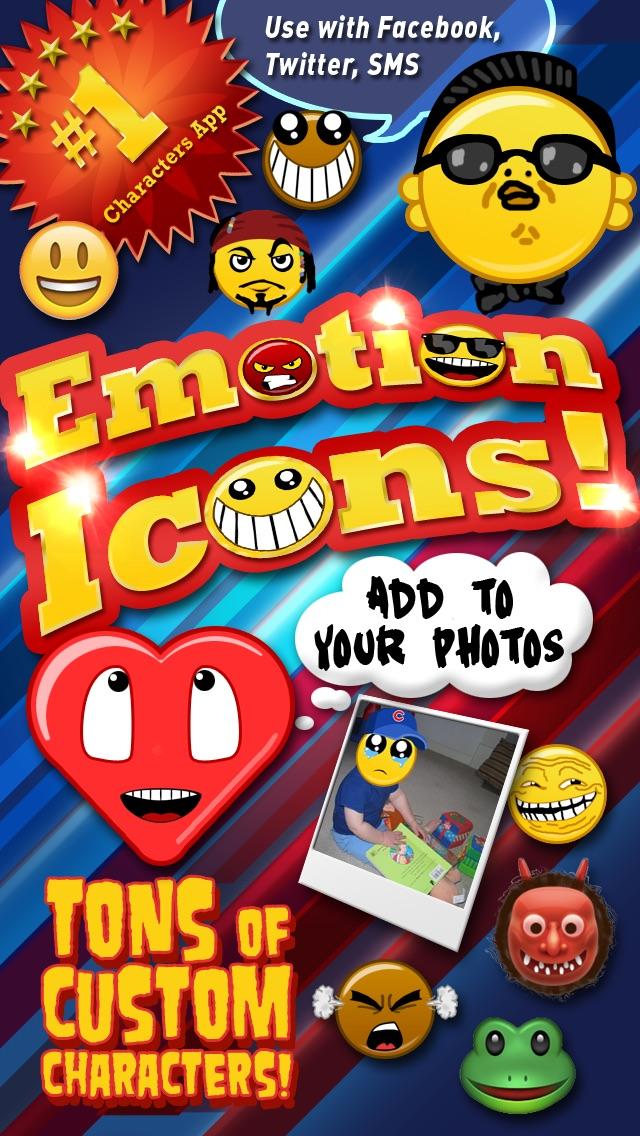 Emoji Characters and Smileys Free! Screenshot