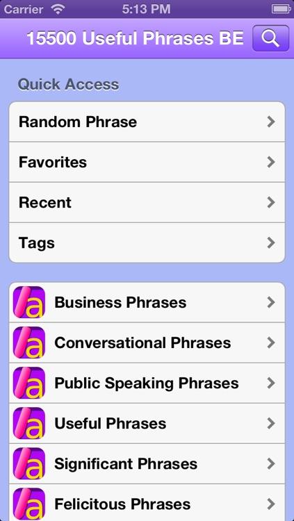 15500 Useful English Phrases Business edition