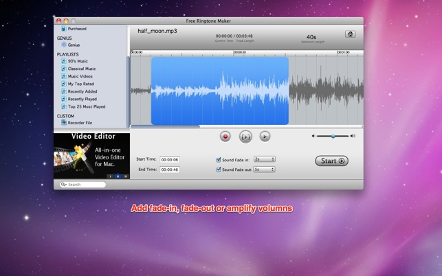 Free Ringtone Maker On The Mac App Store