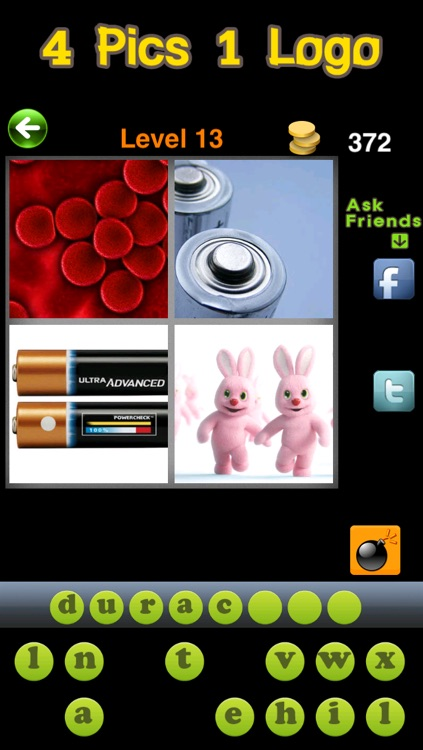 4 Pics 1 Logo Quiz : what's the brand 100 guess word screenshot-3