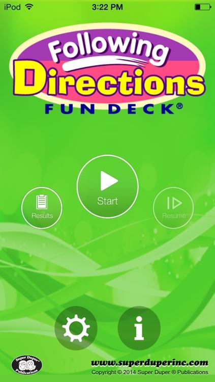 Fun Deck® Following Directions
