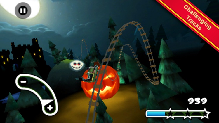 Haunted 3D Rollercoaster Rush