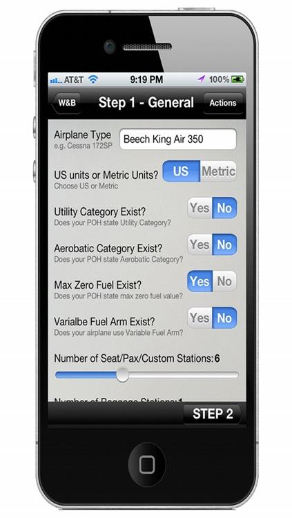 Aviation W&B Calculator screenshot-4