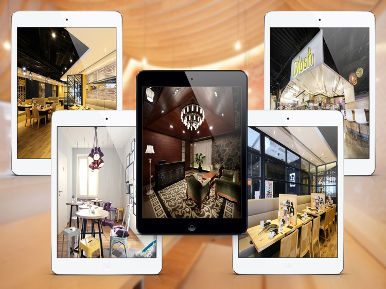 Restaurant & Bar - Interior Design Ideas for iPad screenshot-3
