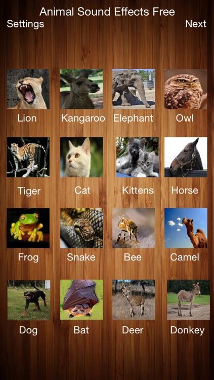 Animal Sound Effects Free!!