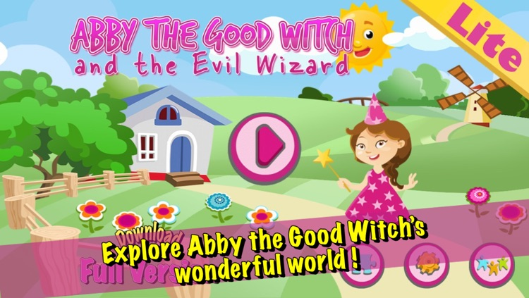 Abby the Good Witch and the evil wizard LITE