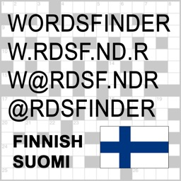 FI Words Finder Pro Suomi/Finnish - find the best words for crossword, Wordfeud, Scrabble, cryptogram, anagram and spelling