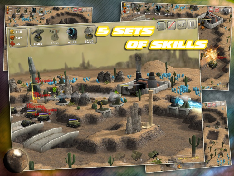 Total Defense 3D HD screenshot-2