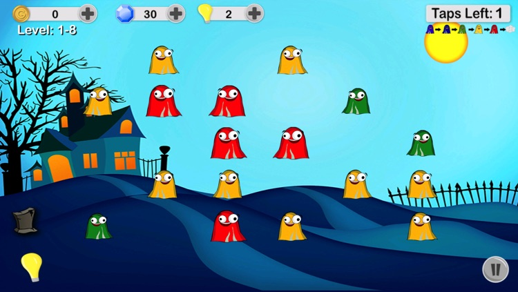 Ghost Poppers - Spooky Chain Reaction Puzzle Game screenshot-3