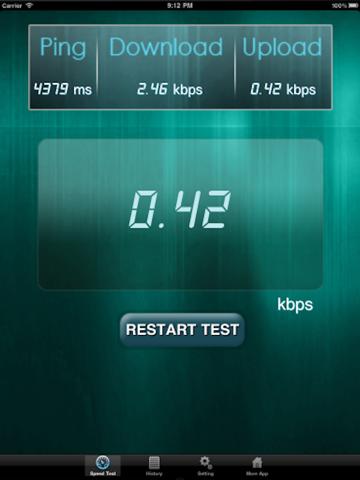 Net Speed Test Lite Скриншоты7