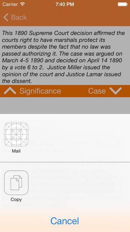 Historic Supreme Court Decisions screenshot-3