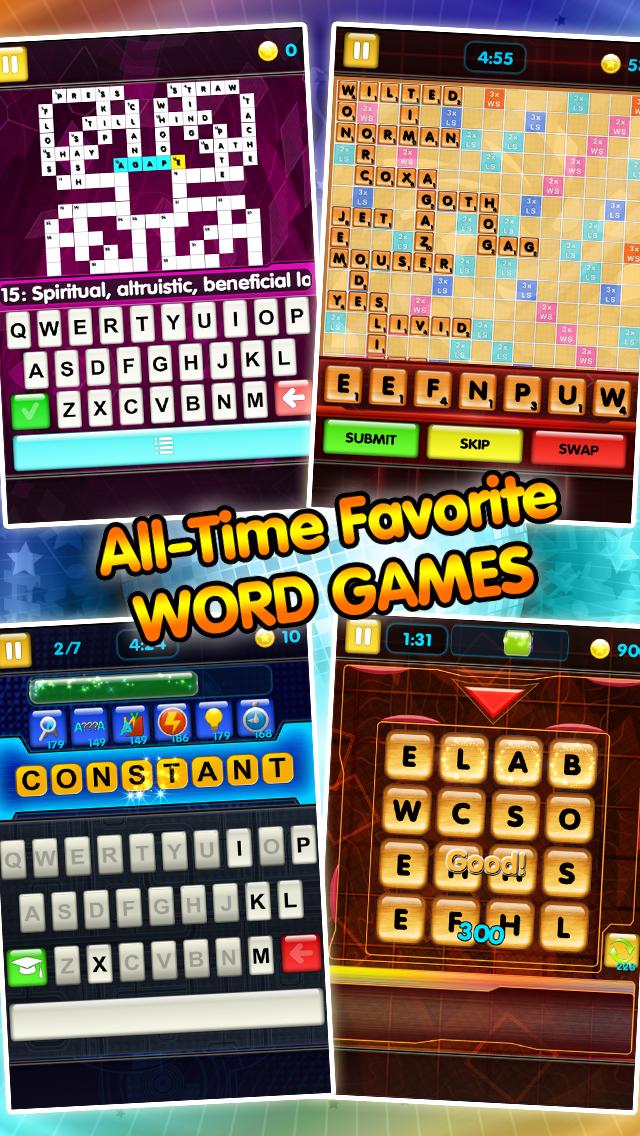 All Word Games Screenshot on iOS