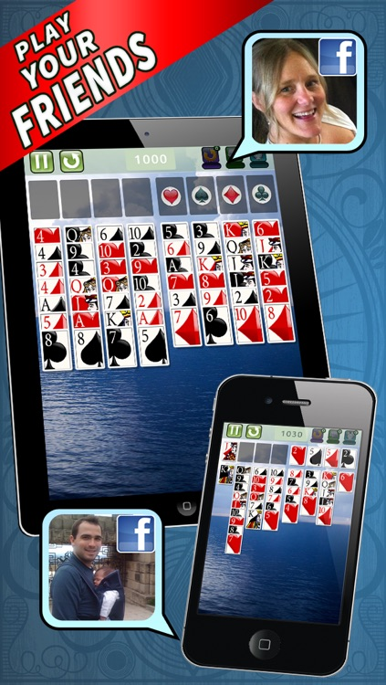 FreeCell Deluxe® Social – The Hit New Solitaire Game from Mobile Deluxe