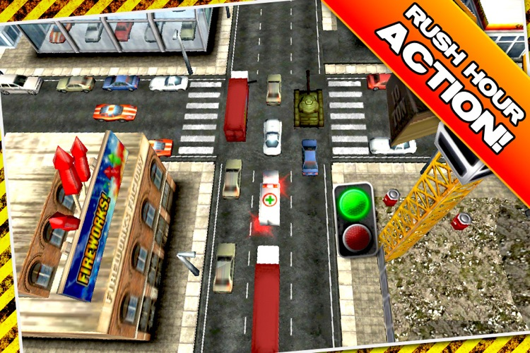 Traffic Panic 3D screenshot-2