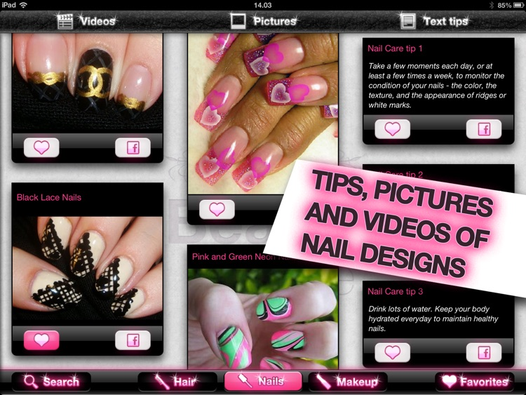 My Beauty Bible PRO – Hair, Nails & Makeup screenshot-2